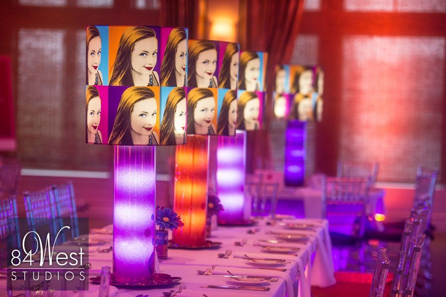 Bellas Andy Warhol Pop Art Theme Bat Mitzvah In Naples Florida