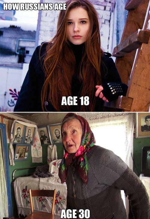 Russian girl meme