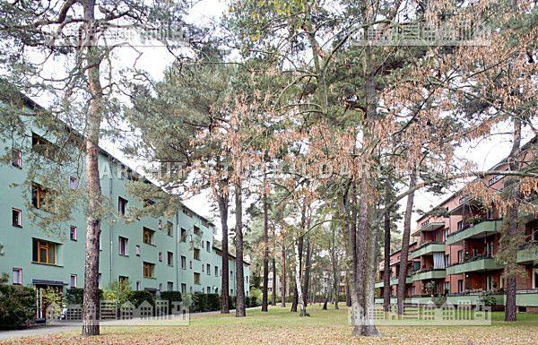 Waldsiedlung Zehlendorf Onkel Toms Hutte Berlin Architektur Bildarchiv Staedtefoto Siedlung Berlin Boppard