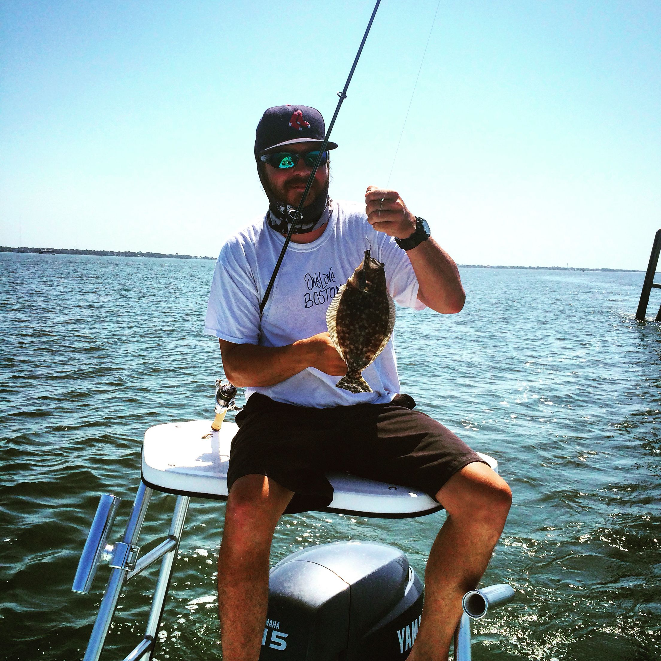 Captain Matt With A Nice Flounder Going To Be In The Charleston Sc Area And Want To Fish With Us Check Us Out At