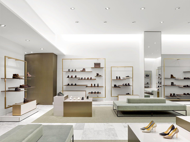 Burdifilek Retail Shoe Store Design Shop Interior