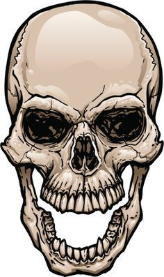 165628919 Skull With Wide Open Mouth Gettyimag By Johnhiggins5 Skulls Drawing Skull Sketch Skull