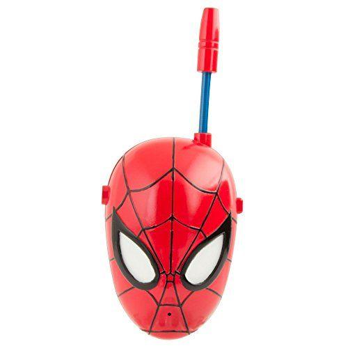 Spiderman Walkie Talkie SPIDERMAN WALKIE TALKIE http://www.amazon.co.uk/dp/B00C65XKJ0/ref=cm_sw_r_pi_dp_J7pfwb1GW6W62
