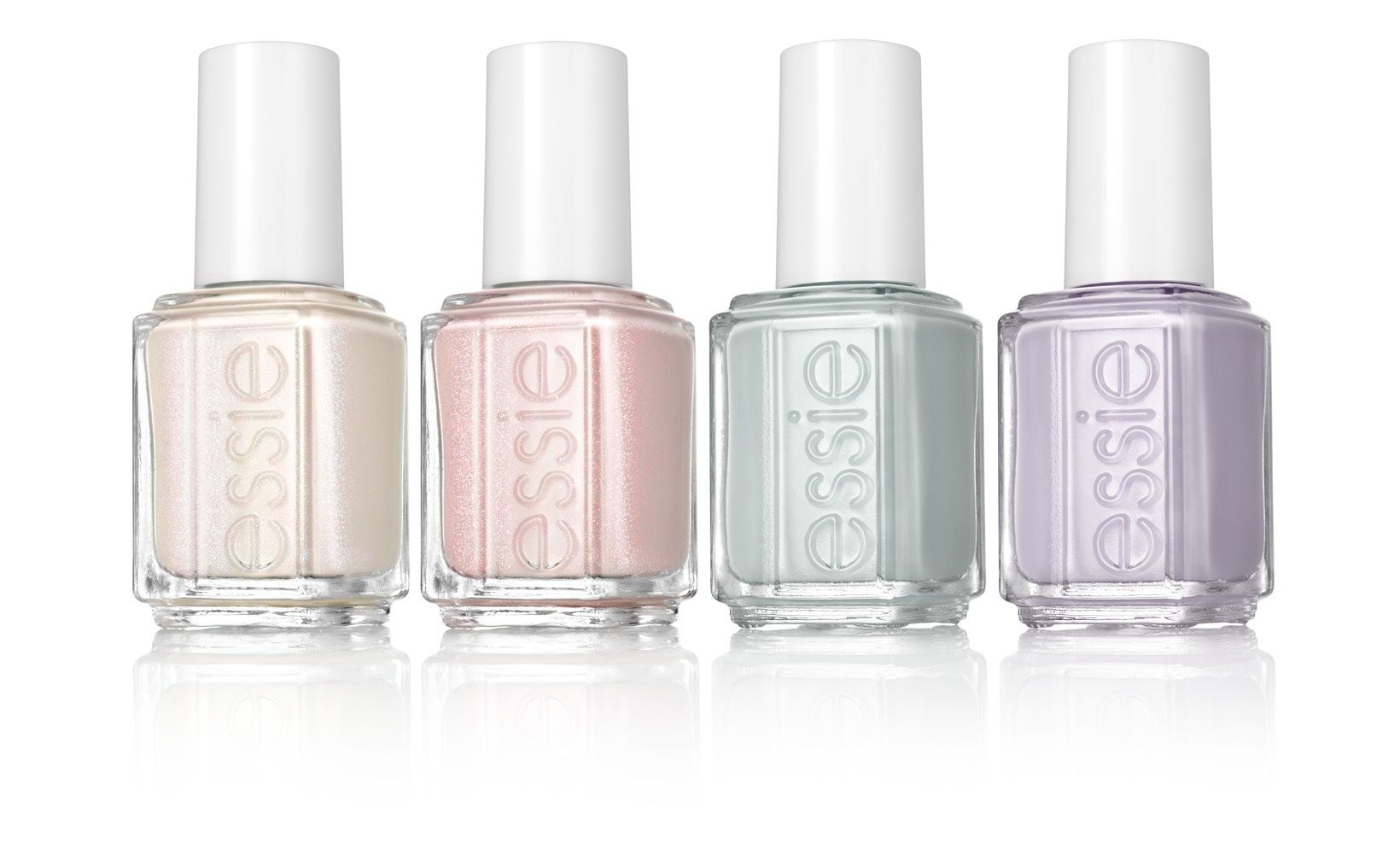 pastel nail varnish http://www.brides.com/blogs/aisle-say/essie ...