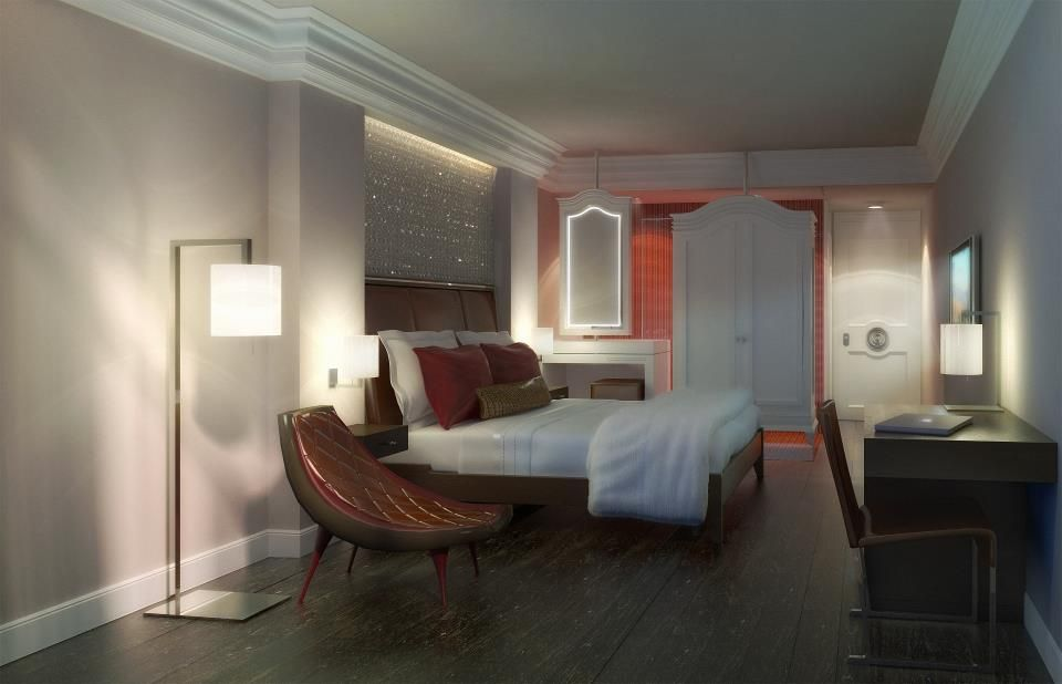 One of ODA's hospitality projects in NYC