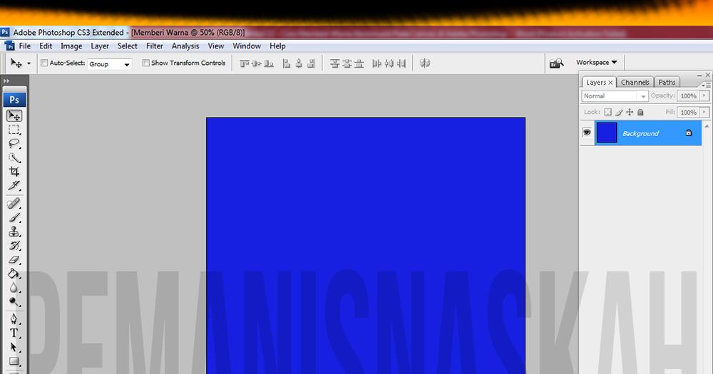 Cara mengganti background foto di photoshop cs3,13 aplikasi edit warna background foto