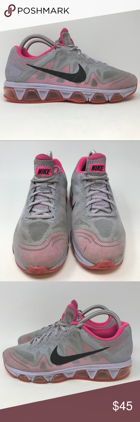 reputable site 41d7d 42ba0 Nike Air Max Tailwind 7 Womens 8.5 K5 Nike Air Max Tailwind 7 Running Shoes  Sneakers Grey Womens Sz 8.5 683635 K5 Shoes are in good used condition Next  day ...