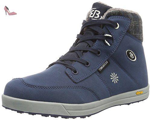 Bruetting 541287, Sneakers Hautes Femme, Bleu (Marine), 40 EUBrütting