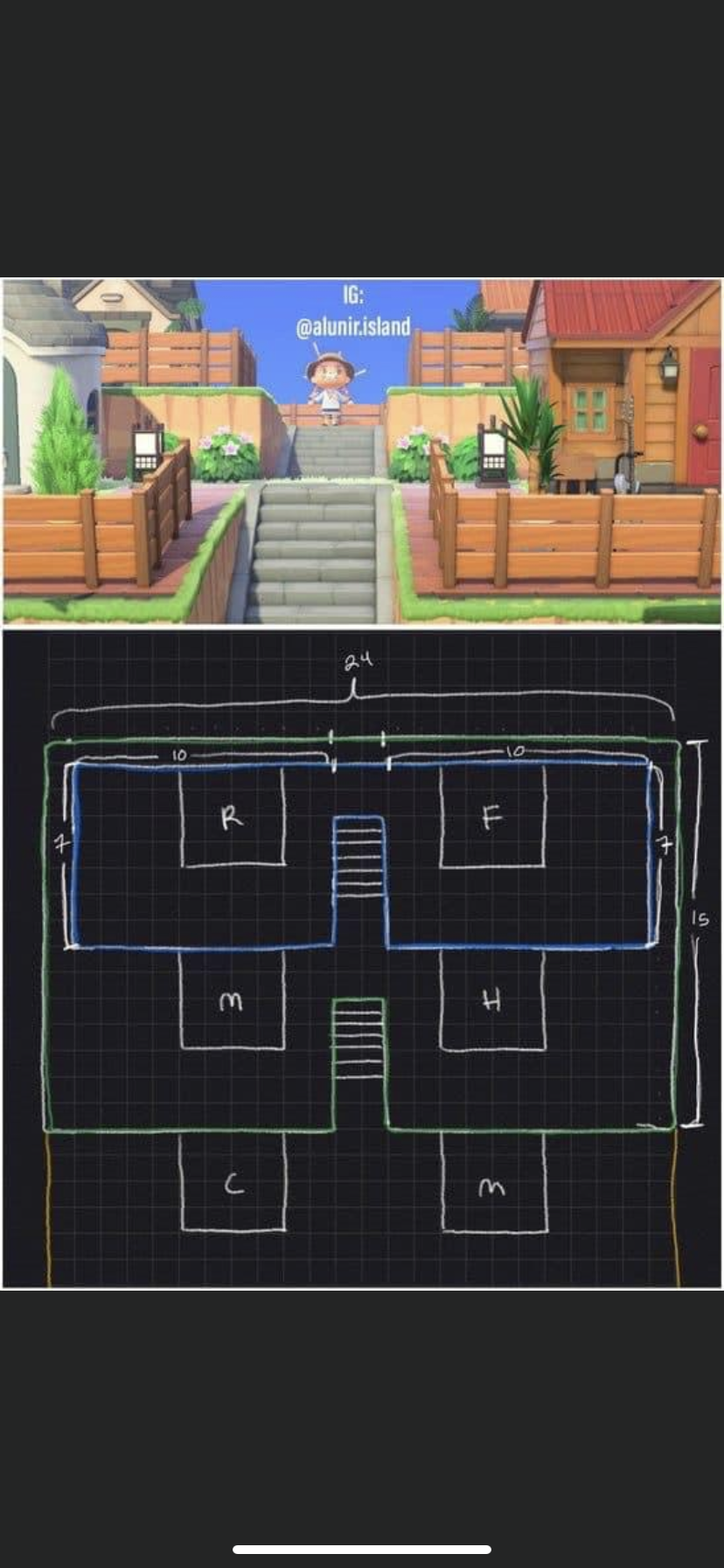Acnh Housing Layout Acnh Island Designs Ideas Animal Crossing House Layout Villager Animal Crossing Villagers Animal Crossing Funny Animal Crossing