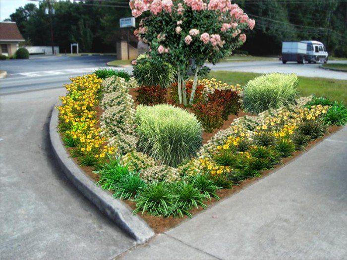 Image Designs Landscaping Entrance Commercial Landscape Design Commercial Landscaping