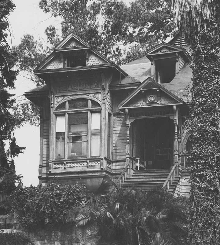 House On Bunker Hill In Downtown L.A. Victorians Are All