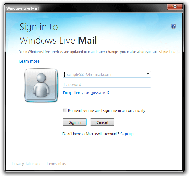 Www Hotmail Login Mail Sign Windows Live Mail Signup
