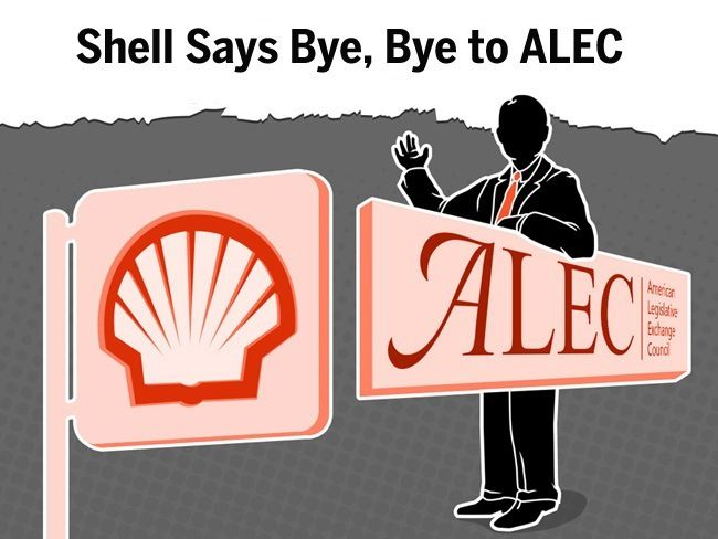 Shell breaks it off with oil citing its stance on climate change.