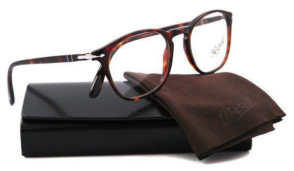 c233a44cba8 Amazon.com  Persol PO3007V Eyeglasses-95 Black-48mm  Clothing ...
