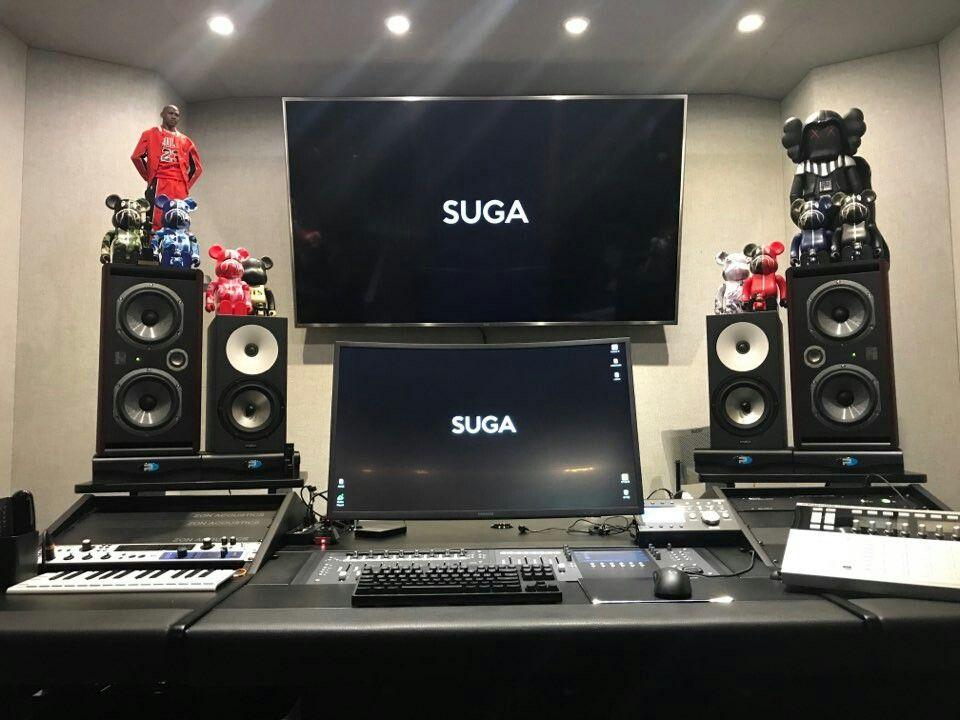 Suga [BTS Trans Tweet] 새 작업실 / New studio #BTS #방탄소년단  BTS 방탄 ...