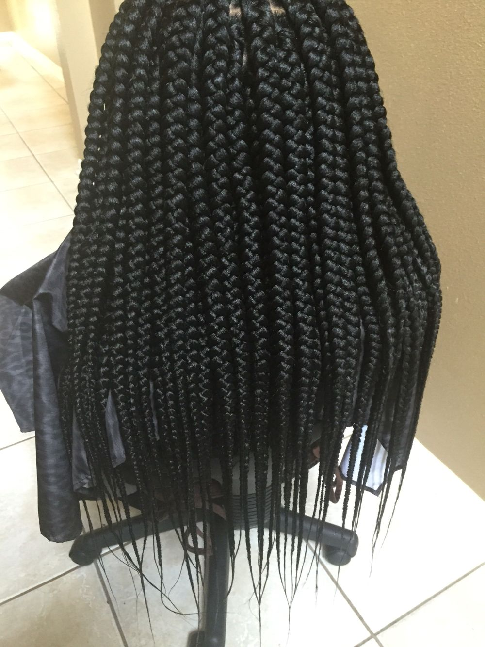 Medium Box Braids Box Braids Hairstyles Medium Box