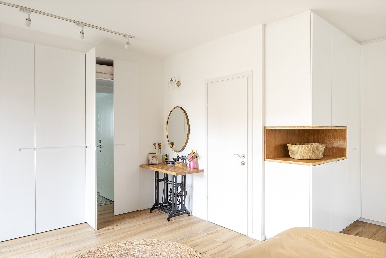 hidden bathroom behind a closet door  door design closet