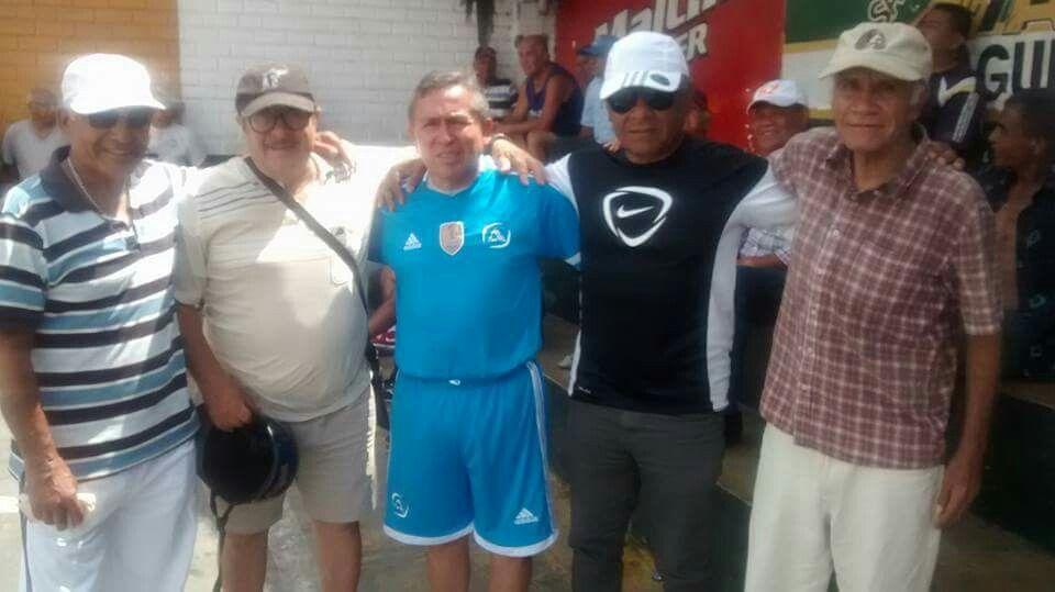 Romulo Ferretti, Carlos Solis, Julio del Valle y otros. January 18, 2016.