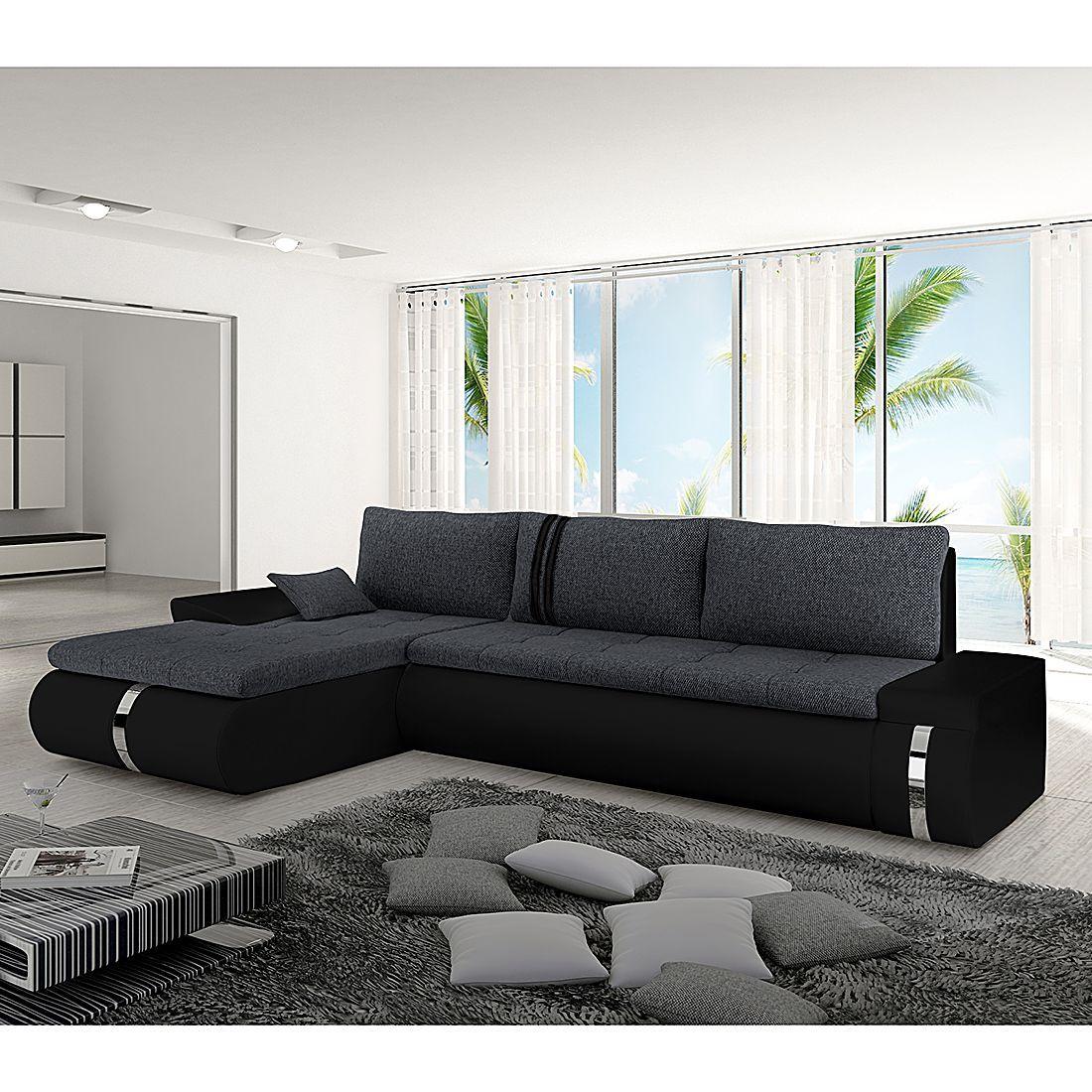 home24 Ecksofa Huelva (mit Schlaffunktion) in 2020 | Design ...