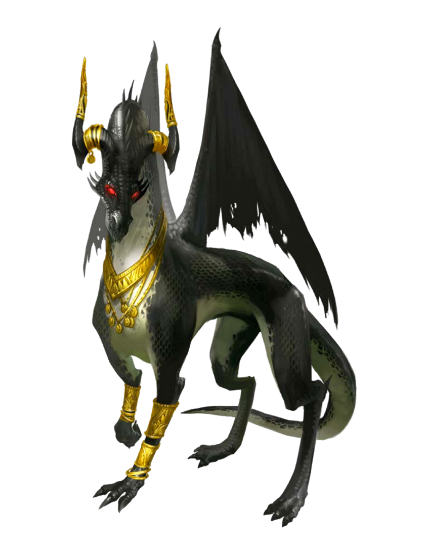 Great Wyrm Umbral Dragon Sorcerer - Argrinyxia - Pathfinder PFRPG