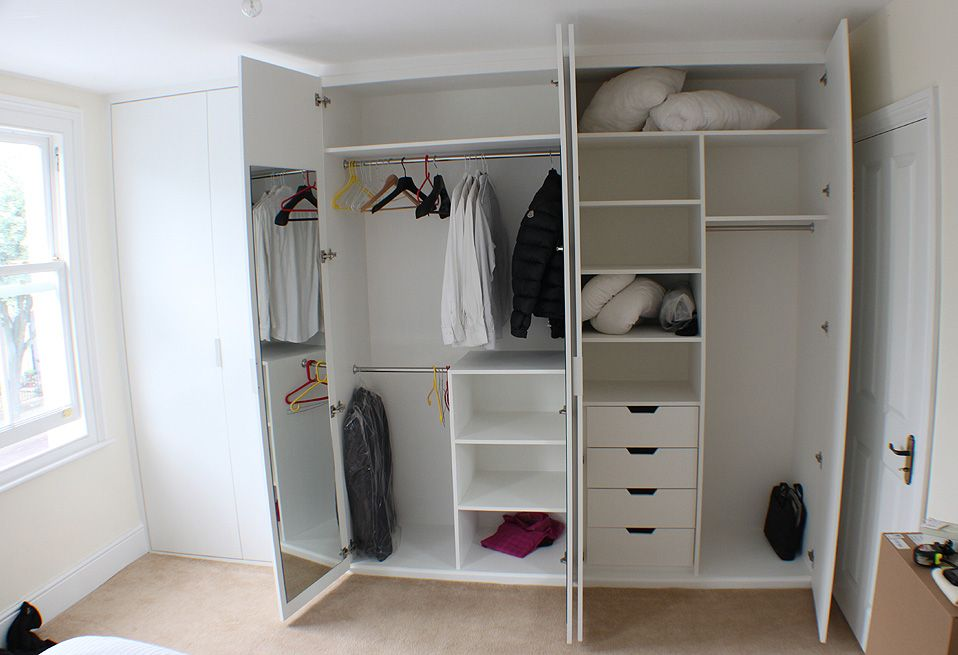 Superior Fitted Wardrobes Examples In London, Wardrobe Interior Design Pictures,  Check Our Alcove Units And Bookshelves With Cupboards And Floating Shelves