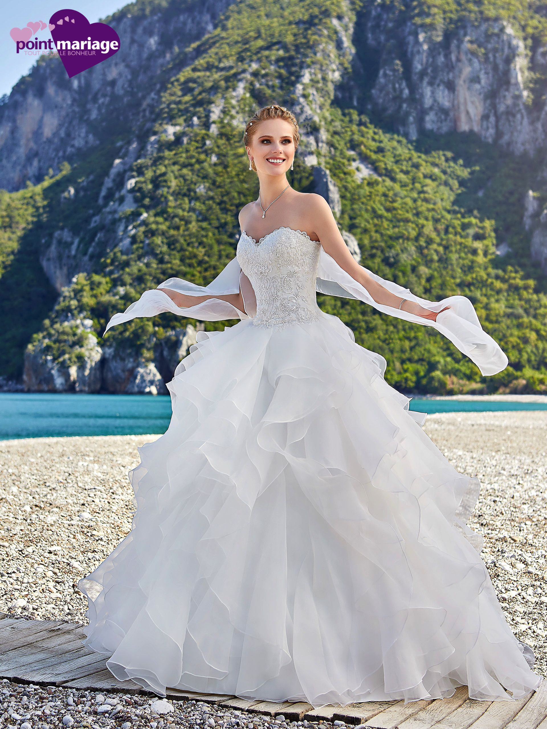 Robe Galice #Collection 2018 #PointMariage