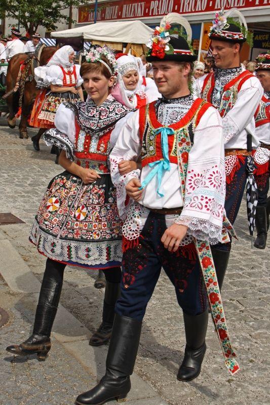 kroje jižní morava - costumes South Moravia, Czech republic Kyjovský kroj
