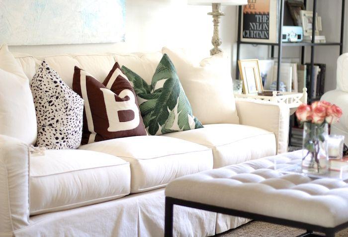 Lee Industries Slipcovered Sofa