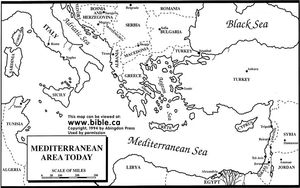 Map Of Ancient Middle East Free Bible Maps of Bible Times and