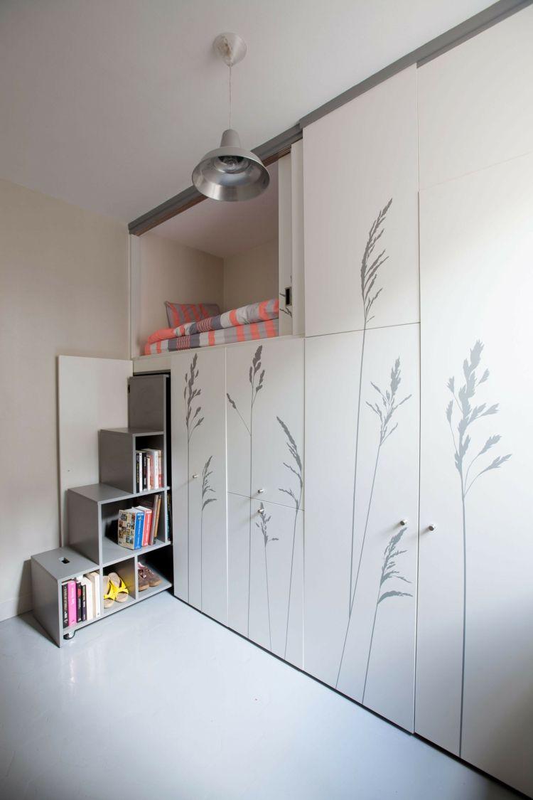 kleine raeume einrichten einzimmerwohnung, kleine räume einrichten – platz in einzimmerwohnung sparen, Design ideen