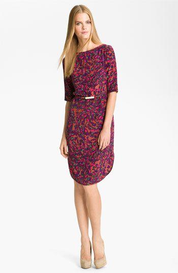 0afb9c320 Rachel Roy Print Silk Shift Dress #Nordstrom | Women's Clothing in ...