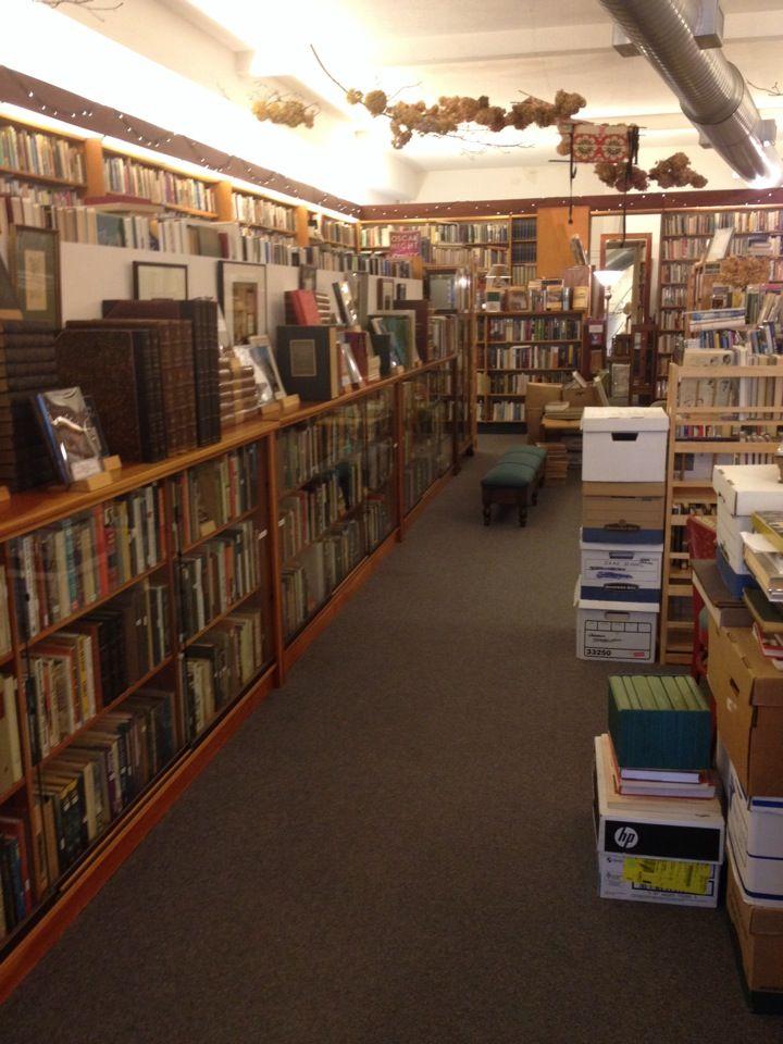 The Captains Bookshelf In Asheville NC