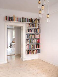DIY Bookshelf Ideas   Bookshelves for small spaces, Home decor, Bookshelves diy