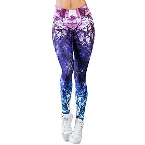 Beautyjourney Leggings Gainant FemmeFemmes Sport Gym Yoga Workout Mi Taille  Jogging Pantalon Fitness éLastique Leggings Leggings b94f309b8fa