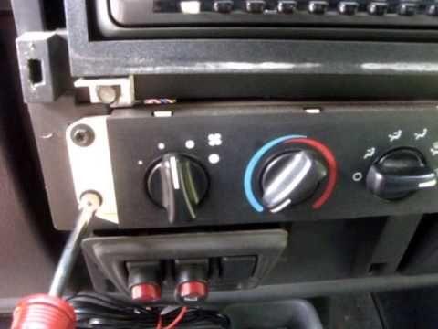 Jeep Wrangler Tj Fan Speed Heater Fix Dash Removal Jeep Tj 2006 Jeep Wrangler Jeep Wrangler Tj