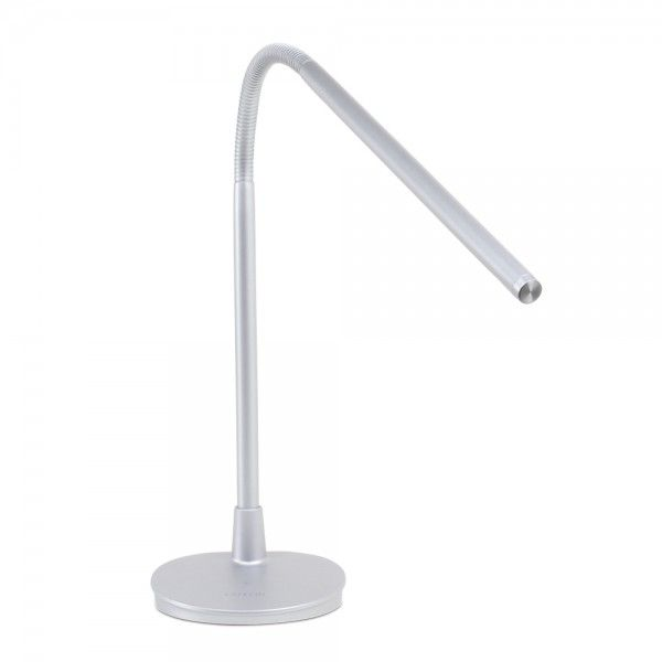Satechi flexible led desk lamp silver has usb charger built in satechi flexible led desk lamp silver has usb charger built in works even when lamp off 5 different touch sensitive brightness levels aloadofball