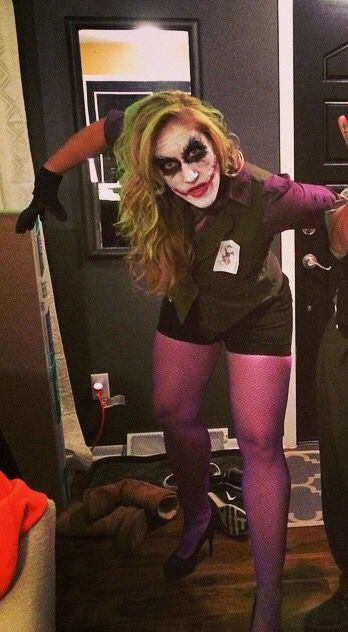 Female Joker Halloween costume Halloween 2016 Pinterest Joker - halloween costume ideas for women 2016