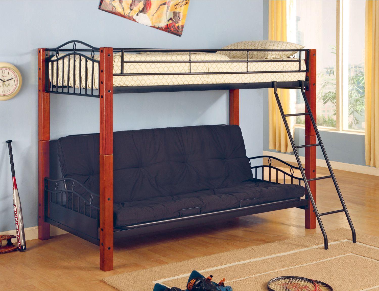 Elk City Twin Over Full Futon Bunk Bed Futon Bunk Bed Bunk Beds