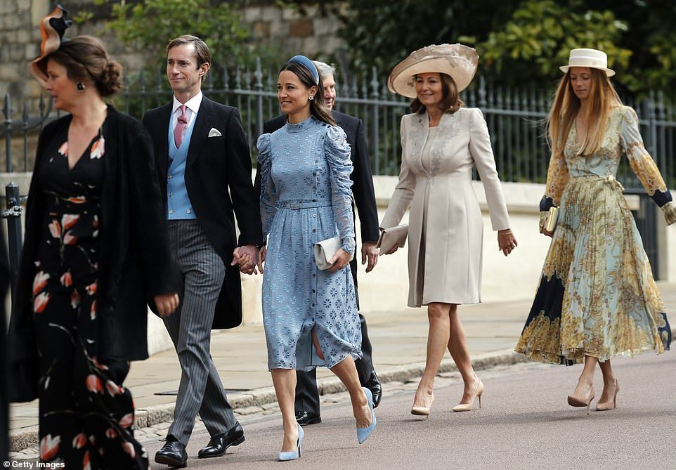 Lady Gabriella's wedding was the most ontrend of the