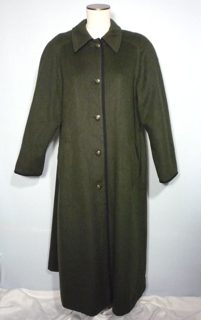 70b0d675f8854 1980s Lodenfrey Green Wool Long Hunting Coat Available at My Vintage  Clothes Line on Ruby Lane