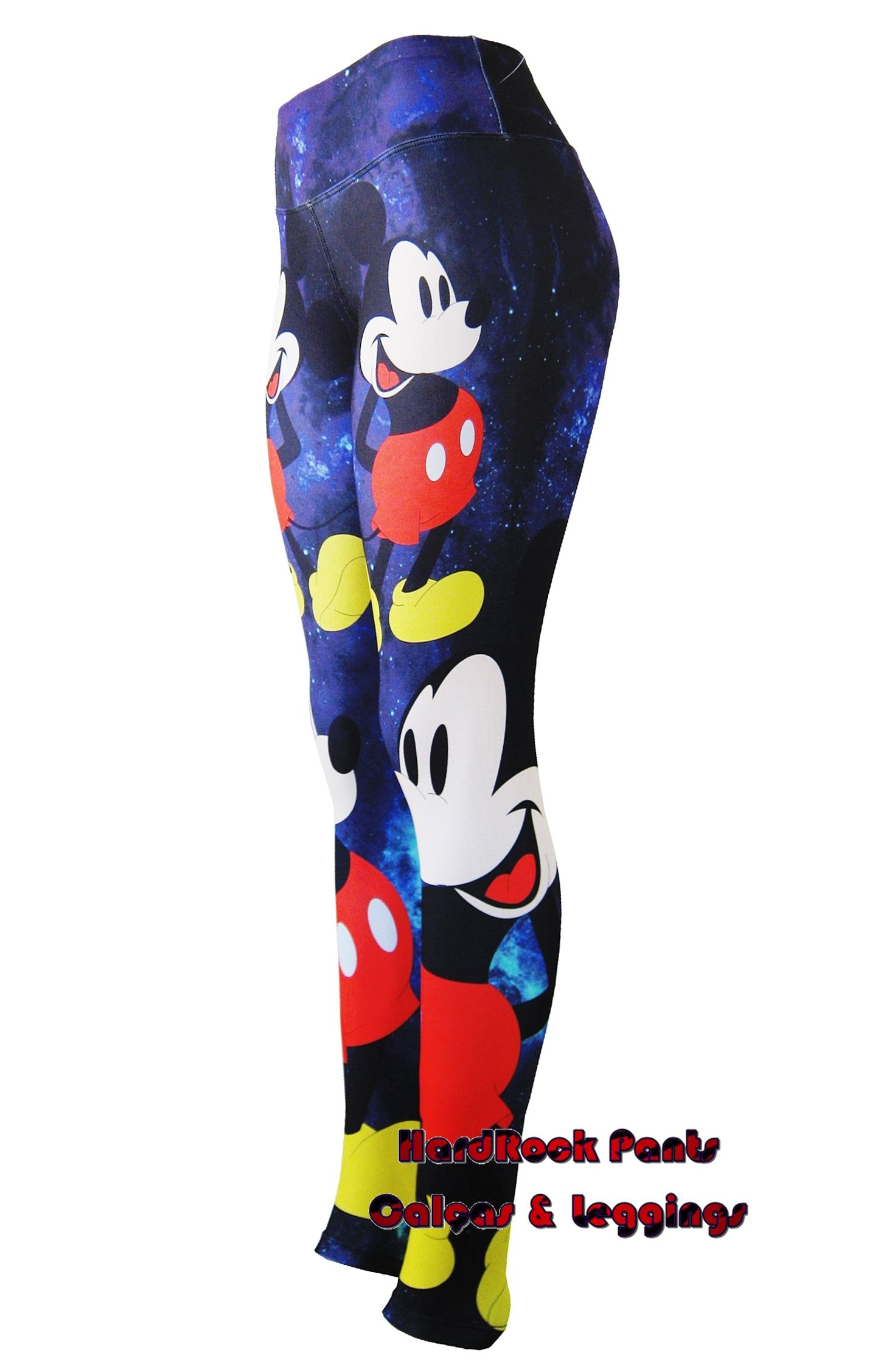 Moda Fitness · Calça Legging Estampada Coleção Disney  Mickey Mouse  calça   legging  estampada  sublimada 63b83fab419b2