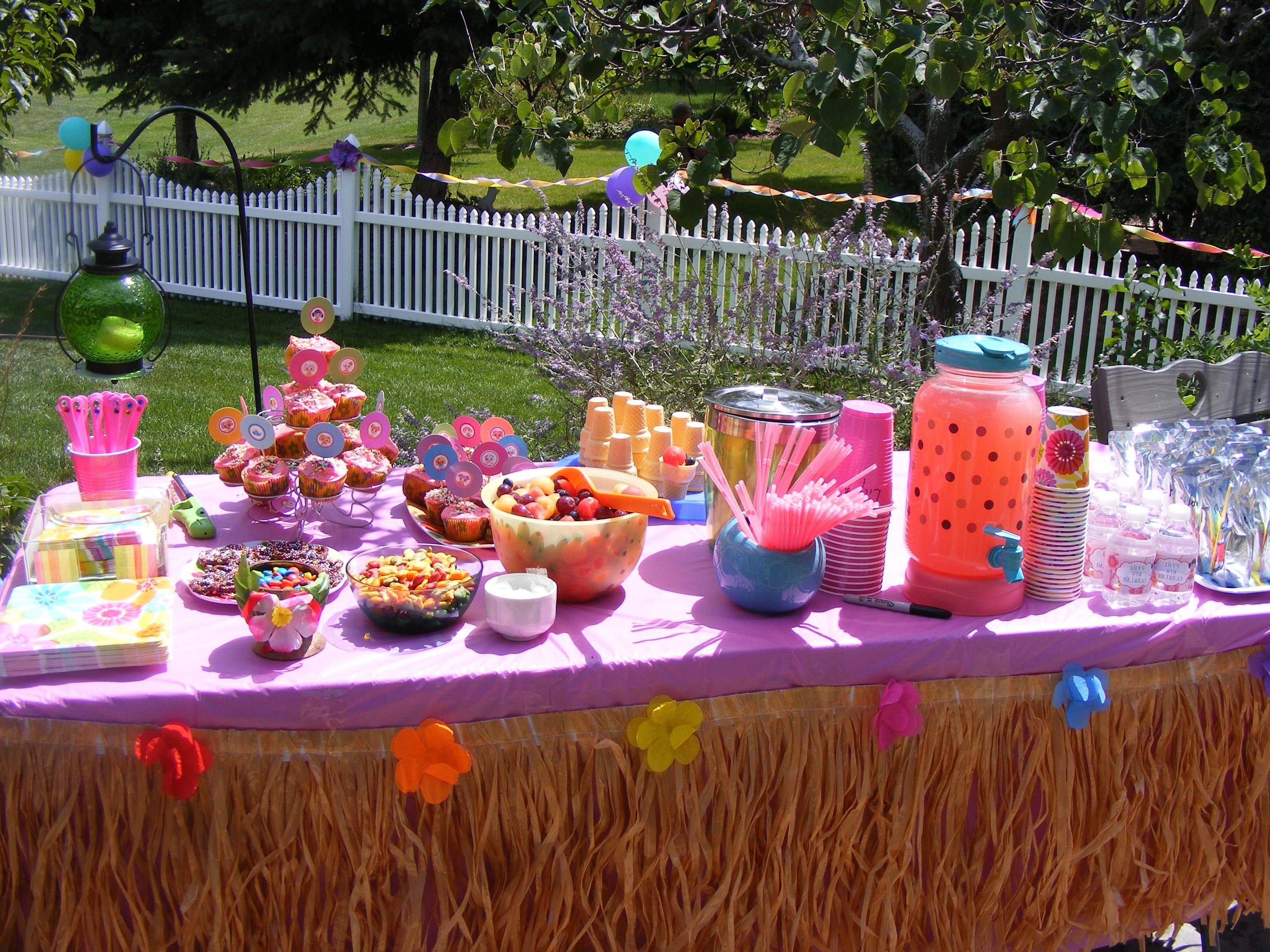 Lalaloopsy luau girls party | Luau party, Hawaiian party ...