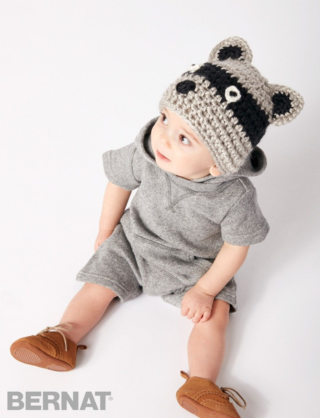 Raccoon Hat - Patterns | Yarnspirations | Crochet accesorios ...