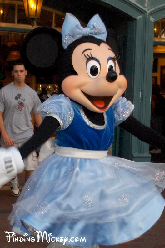 """Year of a million dreams"" Minnie mouse in Blue"