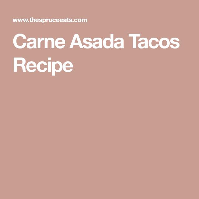 How to Make Carne Asada Street Tacos #asadatacos