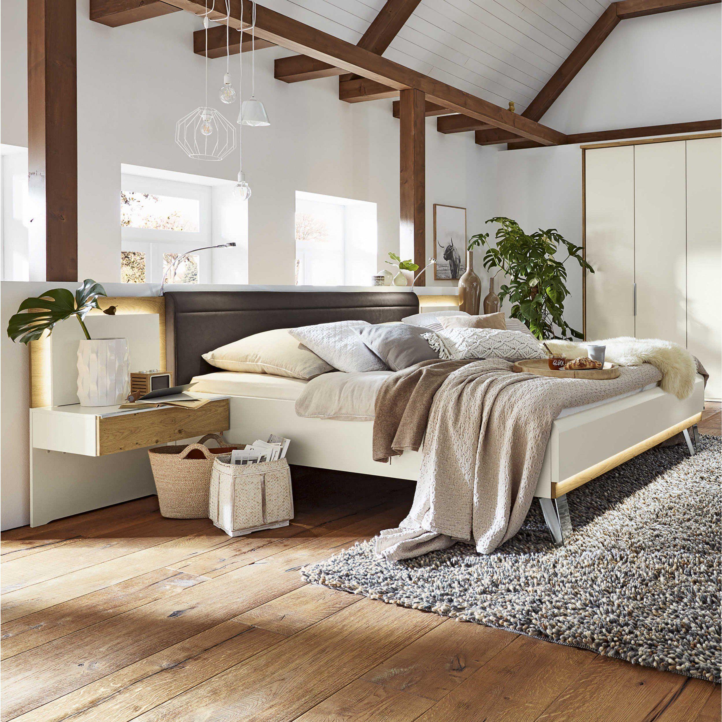 Musterring Bett mit Nachttischen Saphira 180 x 200 cm