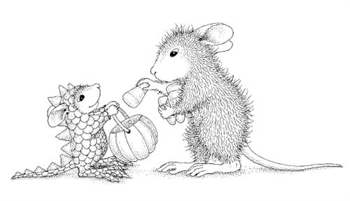 House Mouse Dino Treats Copic Coloring Pages Rhpinterest: House Mouse Coloring Pages At Baymontmadison.com