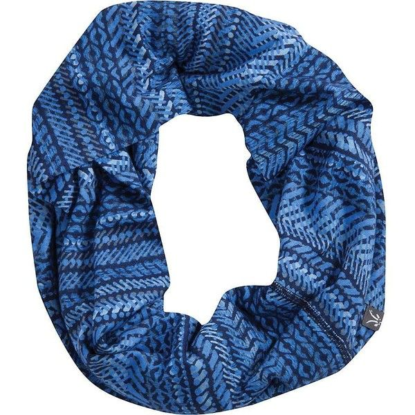 Ibex Women's VT Scarf (61 CAD) ❤ liked on Polyvore featuring accessories, scarves, merino wool shawl, infinity loop scarves, round scarf, loop scarves and circle scarves
