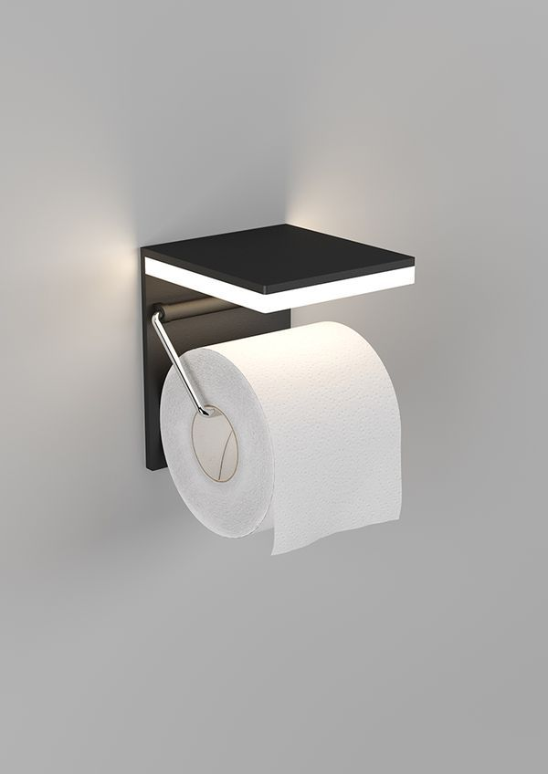 What A Cool Idea An Led Light Over The Toilet Paper Roll Stylish