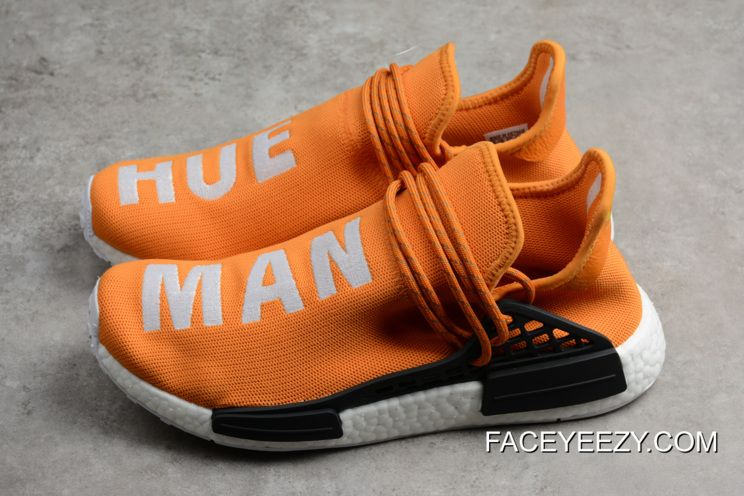 379decc8e1fb Pharrell X Adidas NMD Human Race Hue Man Tangerine Authentic in 2019 ...